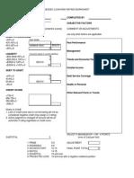 Loan Risk Rating Sheet NESDCAP