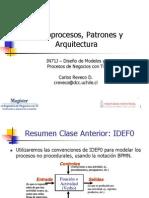 Clase 2 Arquitecura Macroprocesos y Patrones
