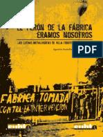 Santella, A. y Andujar, A. - El Perón de La Fábrica Éramos Nosotros [2007]