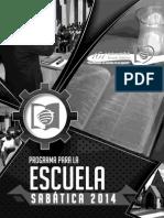 programasescuelasabatica2014-140221230100-phpapp01
