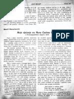 Nazif Resulović - Moje Sjećanje Na Musu Ćazima Ćatića (Novi Behar), VIII, 24 (15. VI. 1935.)