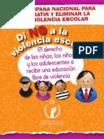 Di No a La Violencia Escolar