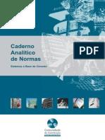 Caderno Analitico de Normas