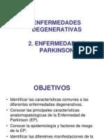 Enfermedad Degenerativas Parkinson