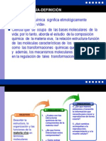 Clase 1 Bioquimica-Intro