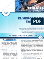 Tema 13. Mercado de Capitales