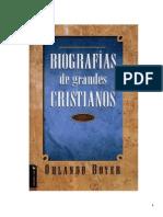 Biografia de Grandes Cristianos Orlando Boyer