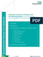 Dementia Services in Primary Care for Gloucestershire