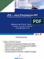 JPA _ Java Persistence API - MGJUG - AdrianoTavares
