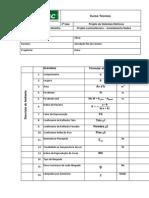 formulario luminotecnico