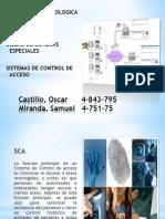 Charla de Sistemas Especiales (Control de Acceso)