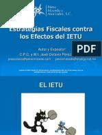 Estrategias Fiscales Contra Los Efectos Del IETU Lam