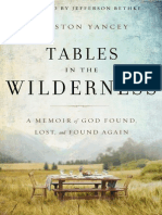 Tables in the Wilderness Sample