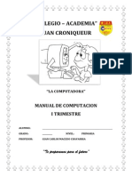 Manual 2do Grado Primaria