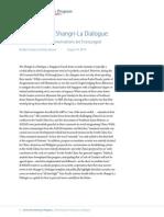 Revisiting the Shangri-La Dialogue
