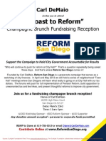Champagne Brunch for Reform San Diego