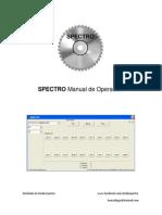 Manual de Spectro