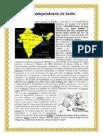La independencia de India.docx