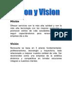 Misión y vision