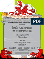 9th Annual Crawfish Fest for Mary Landrieu