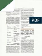 RM 298 publicada en el diario El Peruano