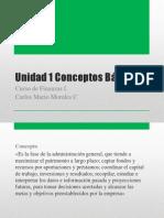 Curso de Finanzas i u1 Conceptos Generales