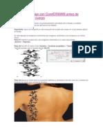 prueba tu tatuaje con coreldraw
