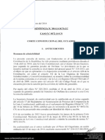 Sentencia en Caso de Comunidades No Contactadas en El Oriente. Corte Constitucional