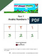 My Arabic Numbers Workbook 1 10