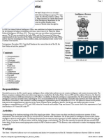 Intelligence Bureau (India) - Wikipedia, The Free Encyclopedia