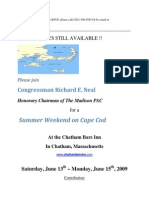 Summer Weekend on Cape Cod for Madison PAC