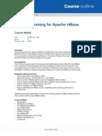 QA-Cloudera Training for Apache HBase