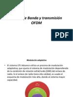 Ancho de Banda y Transmisión OFDM