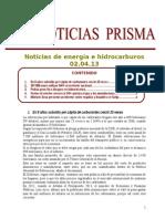 Noticias de Energa e Hidrocarburos 02.04.2013