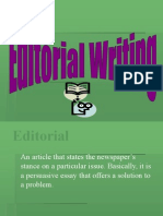 PPT Editorial Writing