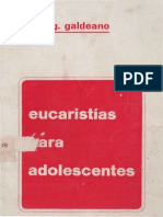 Galdeano, Javier g - Eucaristia Para Adolescentes