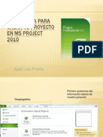 Presentacion Project 2010