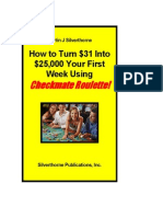 HowtoTurn$31Into$25,000YourFirstWeekCheckmateRoulette