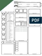 5E D&D Basic - Character Sheet (Form)