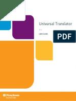 Universal Translator User Guide