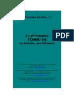 Le Gall -Le Philosophe Tchou Hi