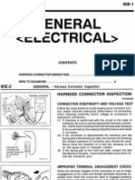 CK Lancer Mirage General Electrical