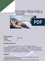 antropologia teologica RESUMEN