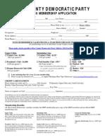 BCDP Membership Application