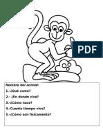 FICHAS Animales Del Zoologico Para Descripción