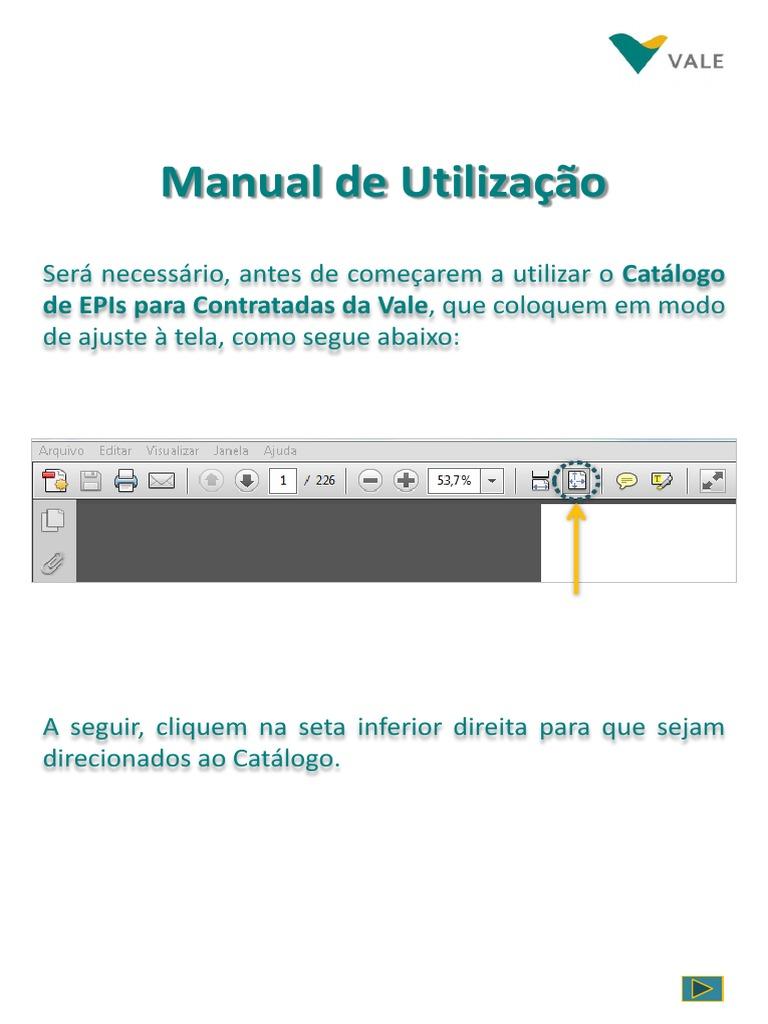 c8d387d148006 CATALOGO DE EPIs PARA CONTRATADAS VALE 4a ...