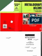 metalografi bilimi (1.Kısım) Numune Hazırlama ve Dağlama Reaktifi