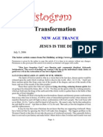Transformation New Age Trance