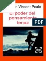 18) El Poder Del Pensamiento Tenaz - Norman Vincent Peale