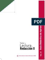 Guia Didactica de Aprendizaje Taller de Lectura y Redaccion II Bloque I